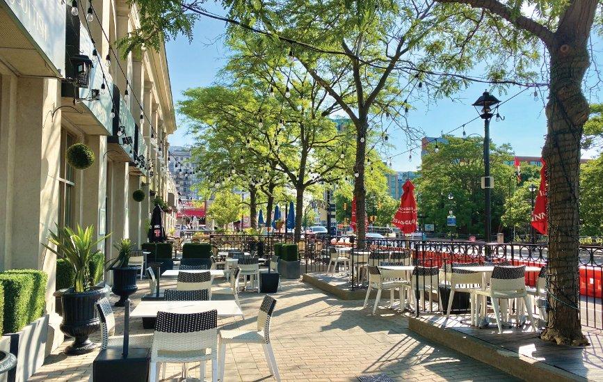 Patios Downtown Burlington
