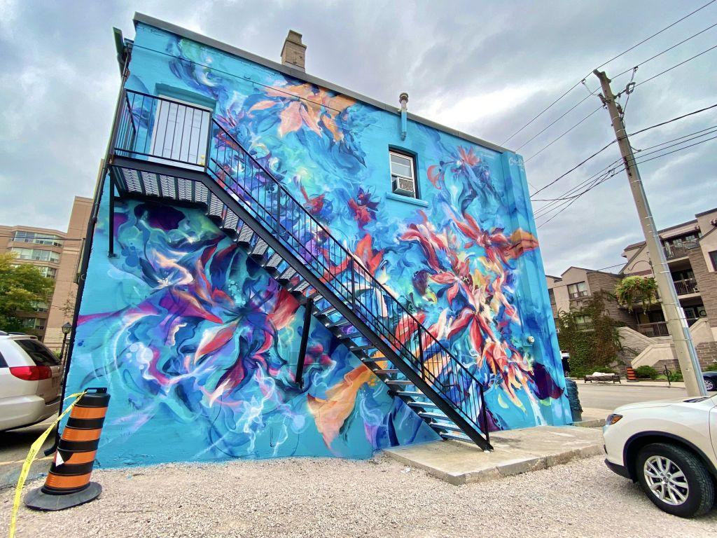 Burlington Downtown Unveils New Mural