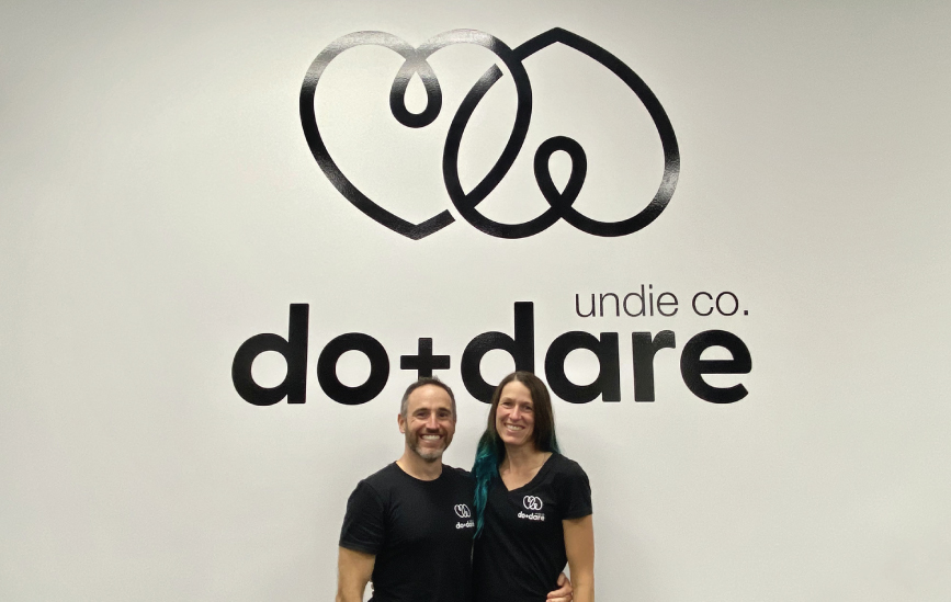 Meet Rob and Sarah of do+dare undie co.